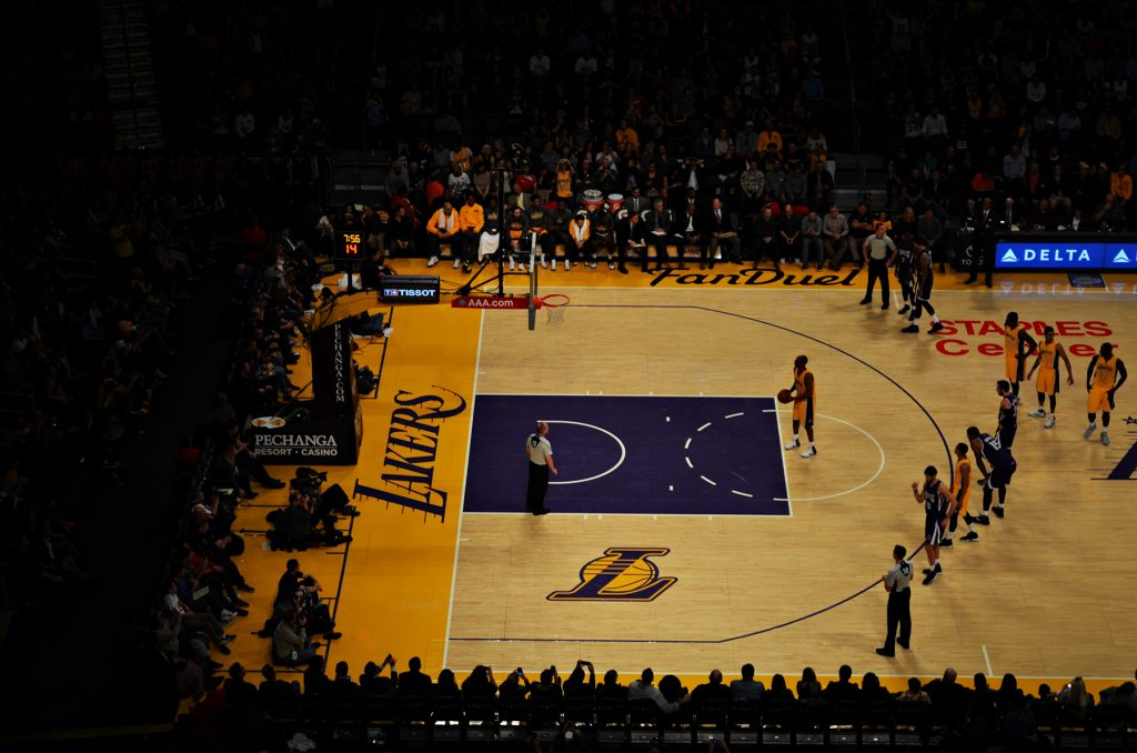 lakers basketball spiel