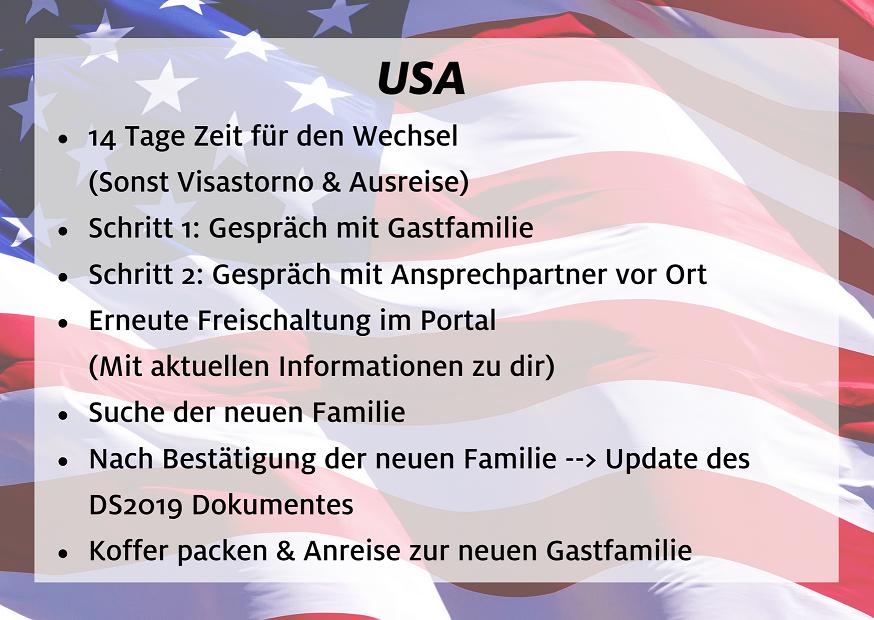 Au pair Rematch Facts - USA