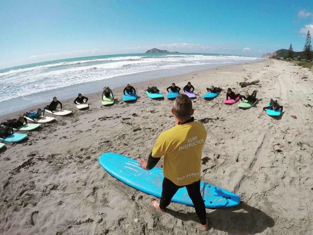 surfkurse neuseeland