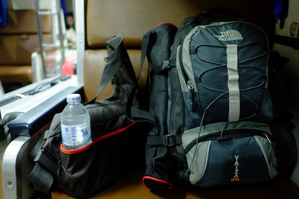 rucksack work and travel
