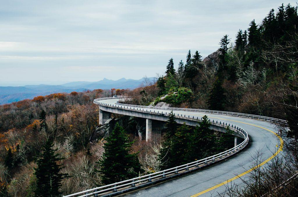 reiseroute roadtrip usa blue ridge parkway