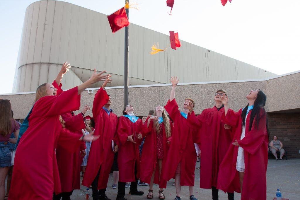 graduation an der schule
