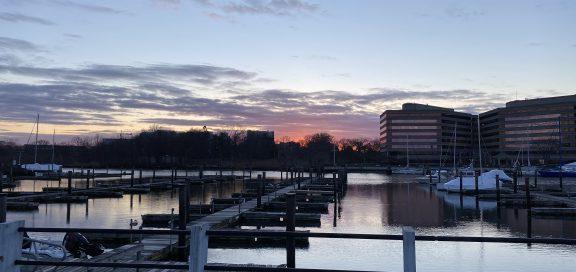 Hafen in Connecticut