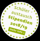 Schüleraustausch Stipendien 2018/19