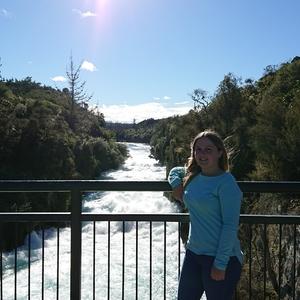 Work and Travel Neuseeland, Erfahrungsbericht, Carolin, Fluss