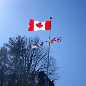 Praktikum Kanada, Erfahrungsbericht, Flagge, Vancouver