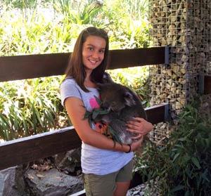 Schüleraustausch Australien, Erfahrungsbericht, Familie, Koala