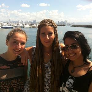 Schüleraustausch Costa Rica, Erfahrungsbericht, Awa, Freundinnen, Meer
