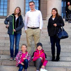 Schüleraustausch Finnland, Erfahrungsbericht, Karen, Gastfamilie