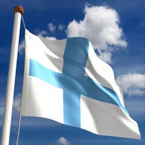 Schüleraustausch Finnland, Erfahrungsbericht, Flagge