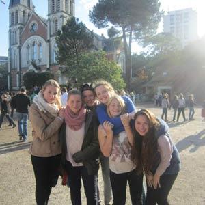Schüleraustausch Frankreich, Erfahrungsbericht, Julia, Freundinnen