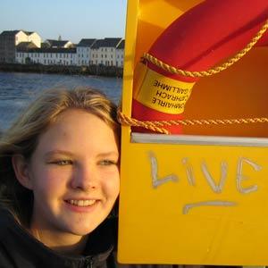 Schüleraustausch Irland, Erfahrungsbericht, Anna, Boot