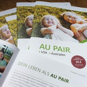 Au pair, Australien, USA, Step by Step, Broschüre bestellen
