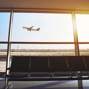 Work and Travel USA, Step by Step, Flug, Flughafen