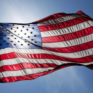 Work and Travel USA, Step by Step, Gebühren, Flagge