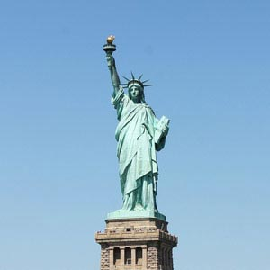 Work and Travel USA, Step by Step, Freiheitsstatue