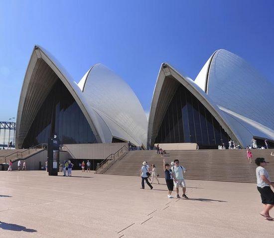 Auslandspraktikum, Australien, Sydney, Oper, Eingang