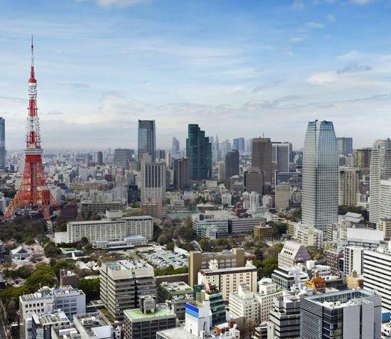 Auslandspraktikum, Japan, Tokio, Skyline, Tokio Tower