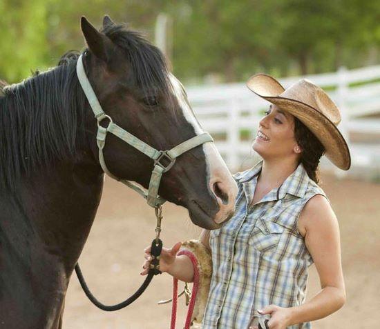 Farmstay, Neuseeland, Frau, Pferd, Ranch