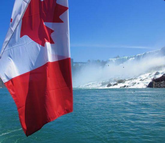 Schueleraustausch, Kanada, Flagge, Ahorn