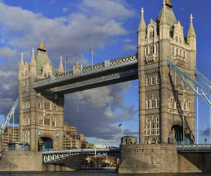 Auslandspraktikum England, London, Tower Bridge