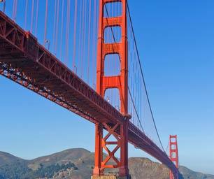 Auslandspraktikum USA, J1 Visumservice,  USA, San Francisco, Golden Gate Bridge