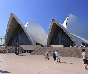 Auslandspraktikum Australien, Oper Sydney, Menschen