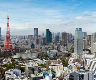 Auslandspraktikum Japan, Tokio, Skyline, Tokio Tower