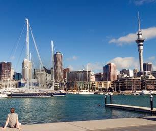 Auslandspraktikum Neuseeland, Auckland, Wasser, Hafen