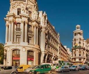 Auslandspraktikum, Spanien, Madrid, Strasse, Autos