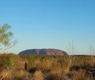 Australien, Laenderinfo, Ayers Rock, Steppe