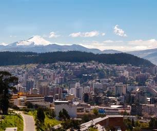 Ecuador, Laenderinfo, Stadt, Ausblick