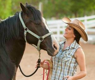 Farmstay Neuseeland, Frau, Pferd, Ranch