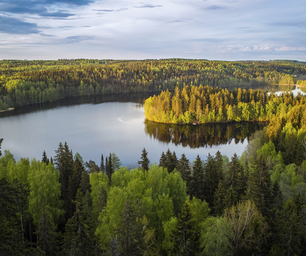 Finnland, Laenderinfo, See, Natur