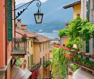 Italien, Laenderinfo, Gasse, Berg