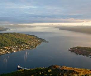 Norwegen, Laenderinfo, Bucht, Sonne