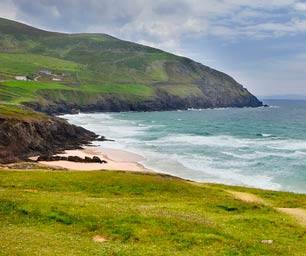 Schüleraustausch Irland, Bucht, Hügel