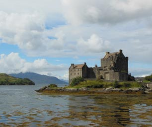 Schüleraustausch Schottland, Landesweit, Schloss am See