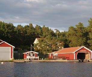 Schweden, Laenderinfo, Haus, Wasser