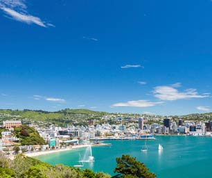Work Travel, Neuseeland, Wellington, Strand