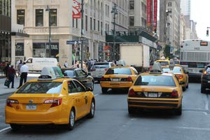 au-pair-usa-taxis-gelb