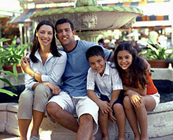 schueleraustausch-costa-rica-gastfamilie-brunnen-vier-personen