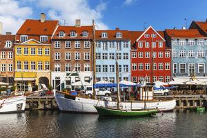 Schüleraustausch Skandinavien Hafenstadt Boote