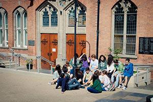 Schüleraustausch Irland, Ferien-Programm, Eingang