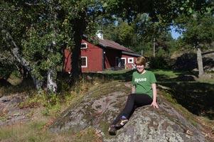 schueleraustausch-schweden-sommer-gruenes-shirt