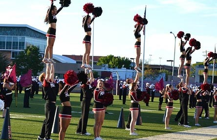 College Stipendium USA, Mesa University, Colorado, Cheerleading