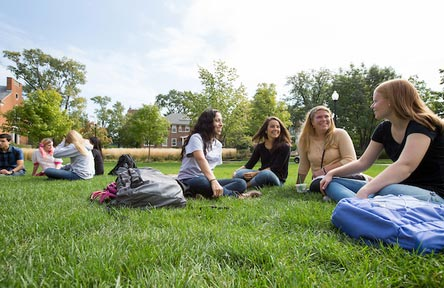 College Stipendium USA, North Park University, Chicago, Studentengruppe