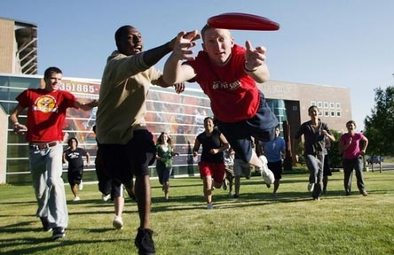 College Stipendium USA, Southern Utah University, Frisbee