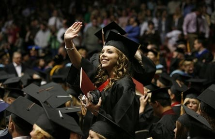 College Stipendium USA, Southern Utah University, Graduation