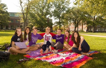 College Stipendium USA, Truman State University, Studentengruppe